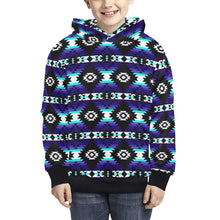 Cree Confederacy Midnight Kids' All Over Print Hoodie (Model H38) Kids' AOP Hoodie (H38) e-joyer