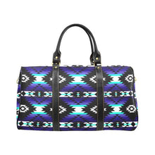 Cree Confederacy Midnight New Waterproof Travel Bag/Large (Model 1639) Waterproof Travel Bags (1639) e-joyer