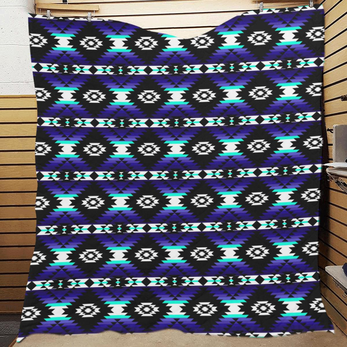 Cree Confederacy Midnight Quilt 70
