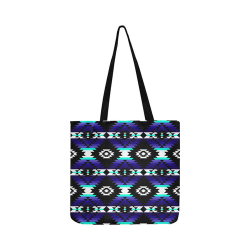 Cree Confederacy Midnight Reusable Shopping Bag Model 1660 (Two sides) Shopping Tote Bag (1660) e-joyer