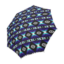 Cree Confederacy Midnight Semi-Automatic Foldable Umbrella Semi-Automatic Foldable Umbrella e-joyer