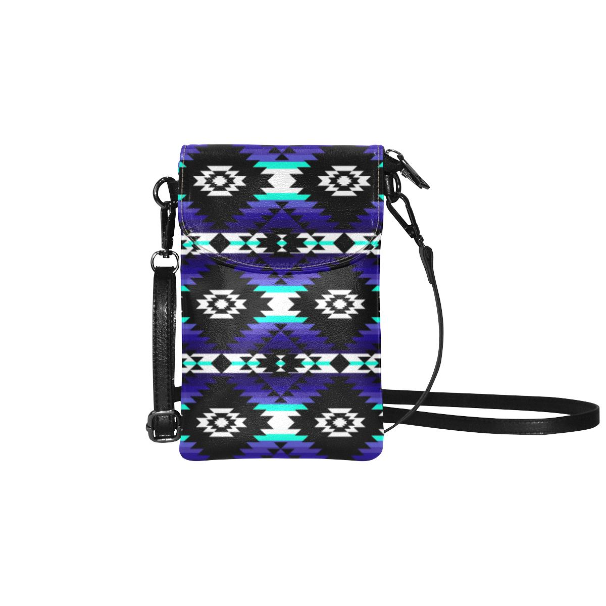 Cree Confederacy Midnight Small Cell Phone Purse (Model 1711) Small Cell Phone Purse (1711) e-joyer