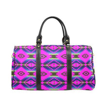 Cree Confederacy Ribbon Dress New Waterproof Travel Bag/Large (Model 1639) Waterproof Travel Bags (1639) e-joyer