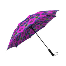 Cree Confederacy Ribbon Dress Semi-Automatic Foldable Umbrella Semi-Automatic Foldable Umbrella e-joyer