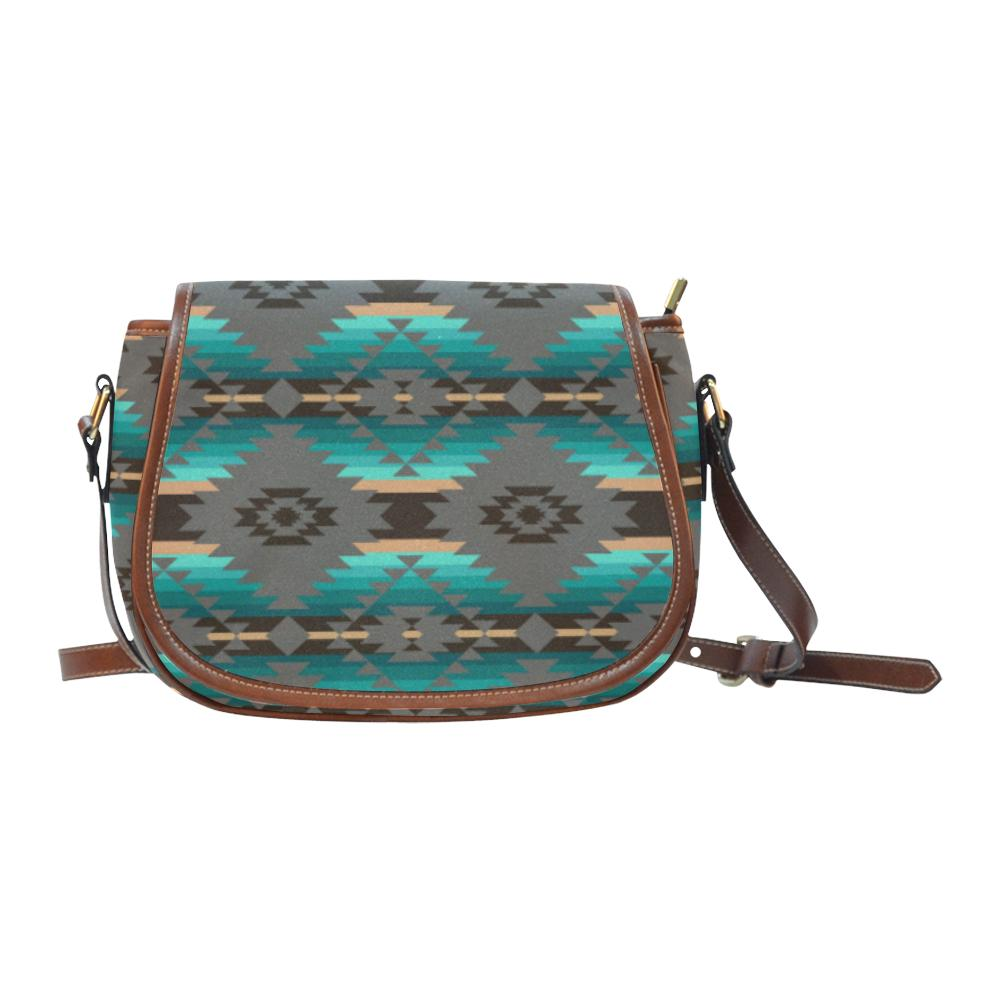 Cree Confederacy Saddle Bag/Small (Model 1649) Full Customization Saddle Bag/Small (Full Customization) e-joyer