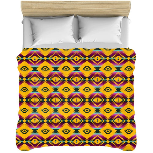 Cree Confederacy Summer Gathering Comforters 49 Dzine 88x104 inch - King Size