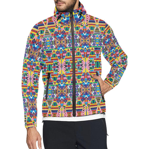 Crow Captive Unisex All Over Print Windbreaker (Model H23) All Over Print Windbreaker for Men (H23) e-joyer