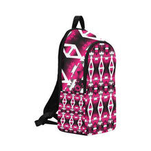 Dark Sunset Winter Camp Fabric Backpack for Adult (Model 1659) Casual Backpack for Adult (1659) e-joyer