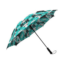 Deep Lake Winter Camp Semi-Automatic Foldable Umbrella Semi-Automatic Foldable Umbrella e-joyer