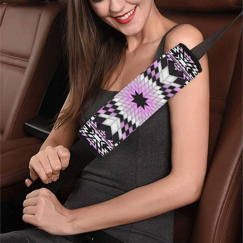 Electric Candy Star Car Seat Belt Cover 7''x12.6'' Car Seat Belt Cover 7''x12.6'' e-joyer