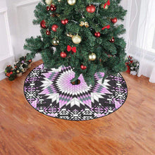 "Electric Candy Star Christmas Tree Skirt 47"" x 47"" Christmas Tree Skirt e-joyer"