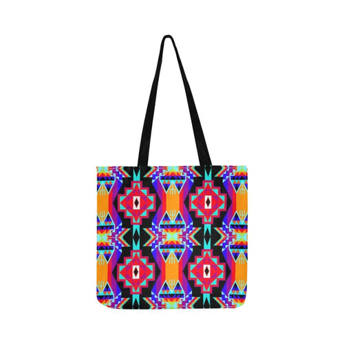 Fancy Bustle Reusable Shopping Bag Model 1660 (Two sides) Shopping Tote Bag (1660) e-joyer