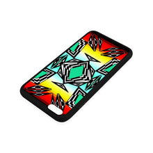 fire and Sky gradient II iPhone 6/6s Plus Case iPhone 6/6s Plus Rubber Case e-joyer