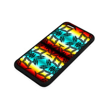 Fire and Sky with Black iPhone 6/6s Plus Case iPhone 6/6s Plus Rubber Case e-joyer
