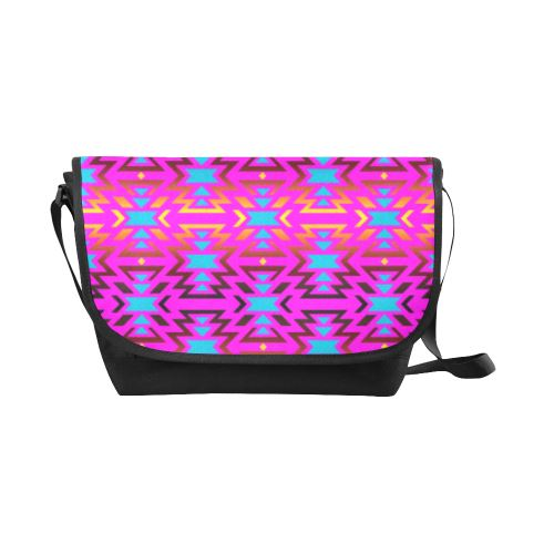Fire Colors and Sky Cotton Candy New Messenger Bag (Model 1667) New Messenger Bags (1667) e-joyer
