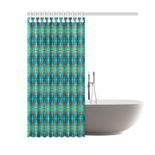 "Fire Colors and Sky Deep Lake Shower Curtain 60""x72"" Shower Curtain 60""x72"" e-joyer"