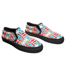 Fire Colors and Sky Otoyimm Canvas Slip On Shoes 49 Dzine
