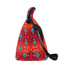 Fire Colors and Sky Sierra Neoprene Lunch Bag/Large (Model 1669) Neoprene Lunch Bag/Large (1669) e-joyer