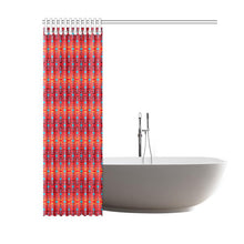 "Fire Colors and Sky Sierra Shower Curtain 60""x72"" Shower Curtain 60""x72"" e-joyer"