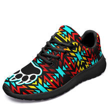 Fire Colors and Turquoise Bearpaw Ikkaayi Sport Sneakers 49 Dzine US Women 4.5 / US Youth 3.5 / EUR 35 Black Sole