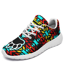 Fire Colors and Turquoise Bearpaw Ikkaayi Sport Sneakers 49 Dzine US Women 4.5 / US Youth 3.5 / EUR 35 White Sole