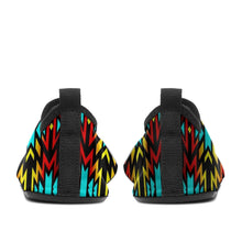 Fire Colors and Turquoise Bearpaw Sockamoccs Kid's Slip On Shoes 49 Dzine