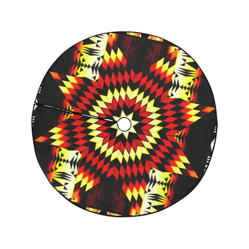 Fire Colors Christmas Tree Skirt 47