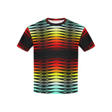 Fire Rattler All Over Print T-shirt for Kid (USA Size) (Model T40) All Over Print T-shirt for Kid e-joyer