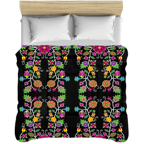 Floral Beadwork Comforters 49 Dzine 88x104 inch - King Size