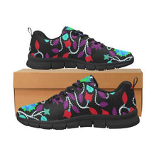 Floral Beadwork Four Clans Winter Men's Breathable Running Shoes/Large (Model 055) Men's Breathable Running Shoes/Large (055) e-joyer