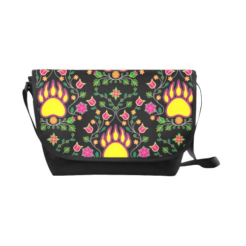 Floral Bearpaw New Messenger Bag (Model 1667) New Messenger Bags (1667) e-joyer