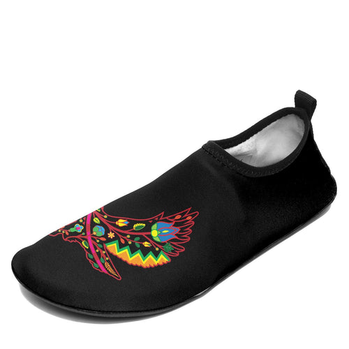 Floral Eagle Sockamoccs Slip On Shoes 49 Dzine