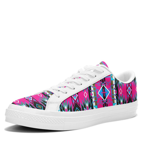 Force of Nature Sunset Storm Aapisi Low Top Canvas Shoes White Sole 49 Dzine