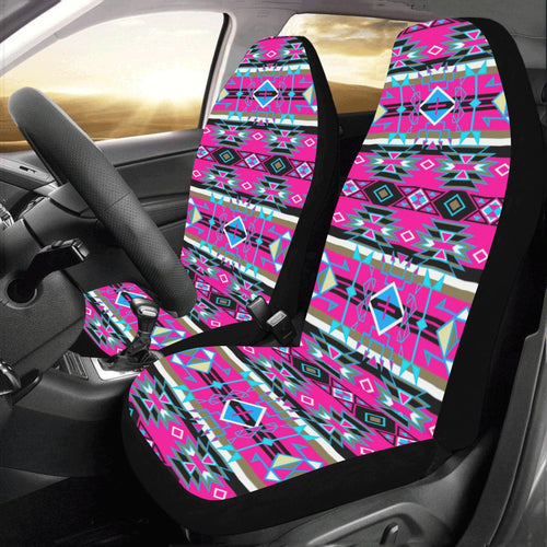 Force of Nature Sunset Storm Car Seat Covers (Set of 2) Car Seat Covers e-joyer