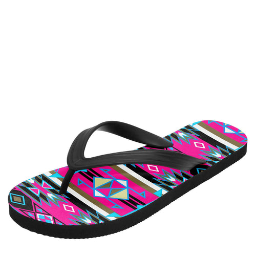 Force of Nature Sunset Storm Flip Flops 49 Dzine