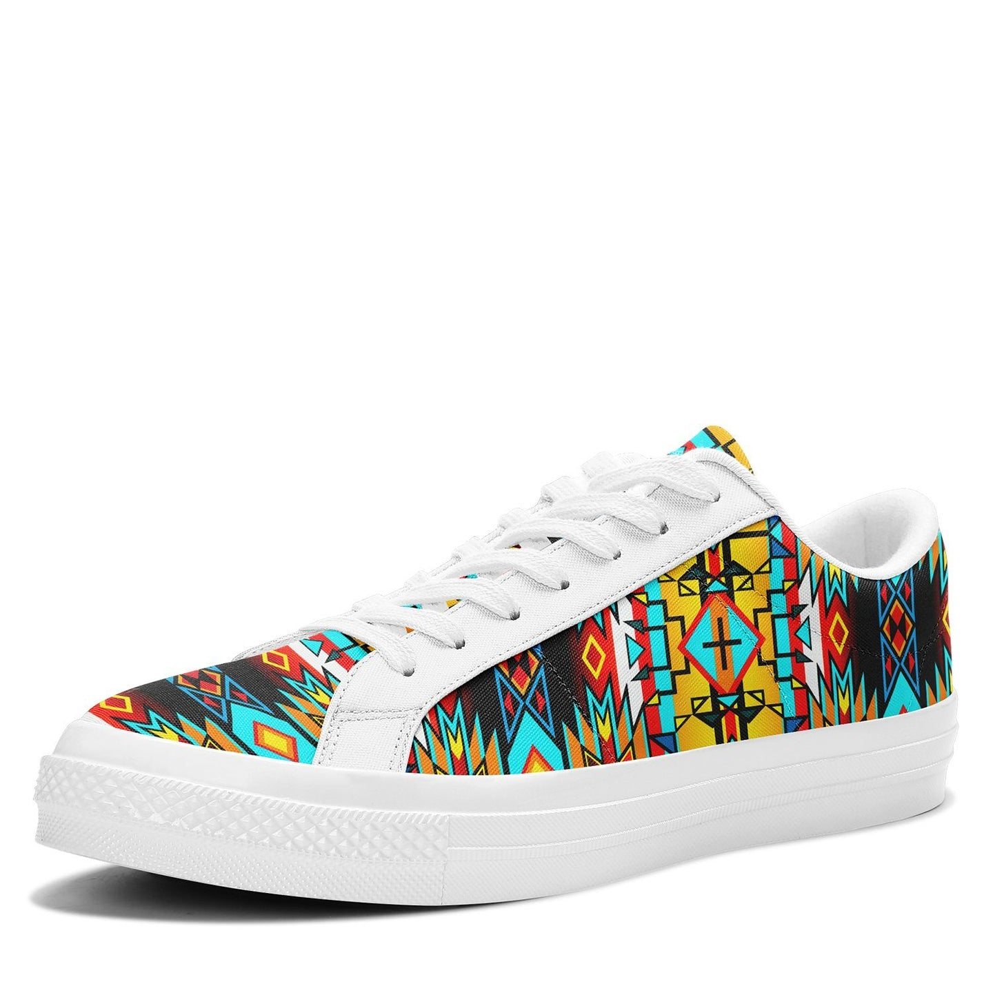Force of Nature Twister Aapisi Low Top Canvas Shoes White Sole 49 Dzine