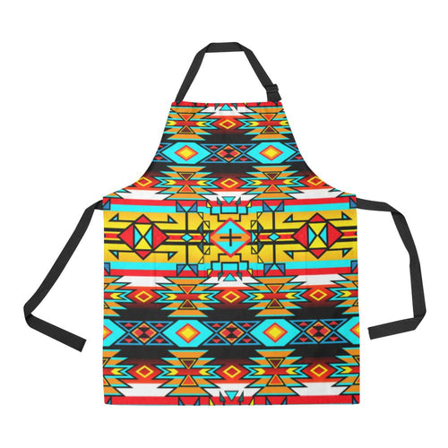 Force of Nature Twister All Over Print Apron All Over Print Apron e-joyer