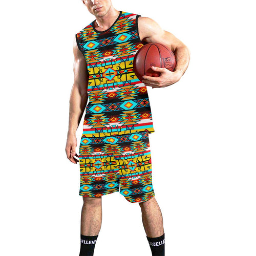 Force of Nature Twister All Over Print Basketball Uniform Basketball Uniform e-joyer
