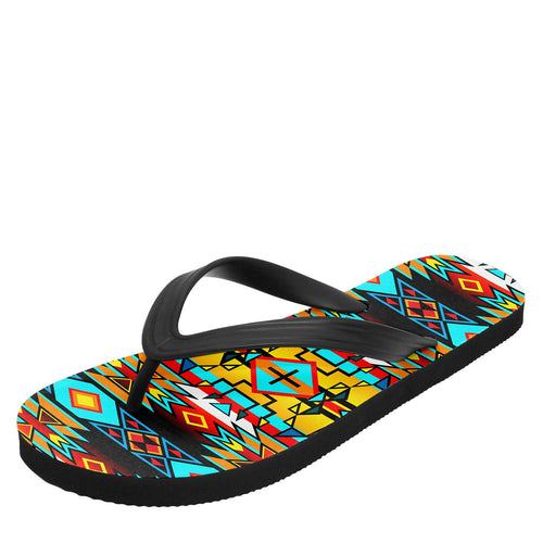 Force of Nature Twister Flip Flops 49 Dzine