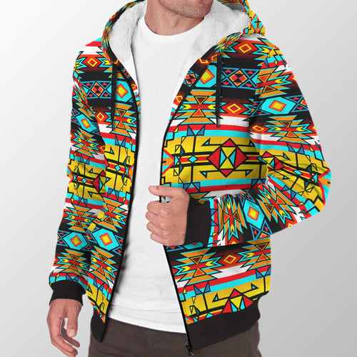 Force of Nature Twister Sherpa Hoodie 49 Dzine