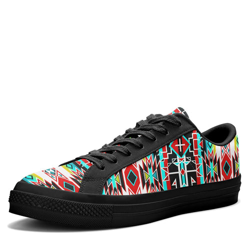 Force of Nature Windstorm Aapisi Low Top Canvas Shoes Black Sole 49 Dzine