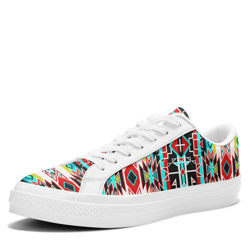 Force of Nature Windstorm Aapisi Low Top Canvas Shoes White Sole 49 Dzine