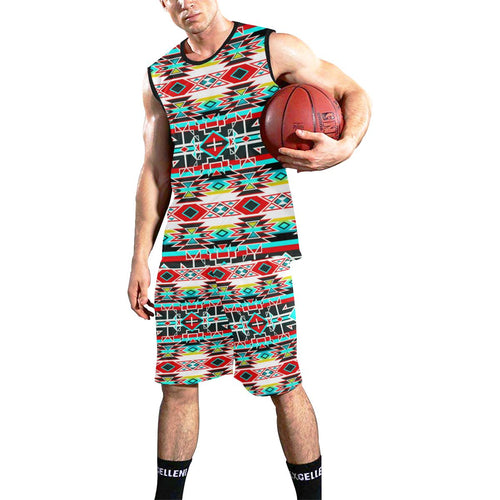Force of Nature Windstorm All Over Print Basketball Uniform Basketball Uniform e-joyer