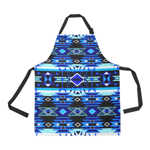Force of Nature Winter Night All Over Print Apron All Over Print Apron e-joyer