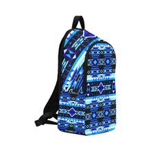 Force of Nature Winter Night Fabric Backpack for Adult (Model 1659) Casual Backpack for Adult (1659) e-joyer