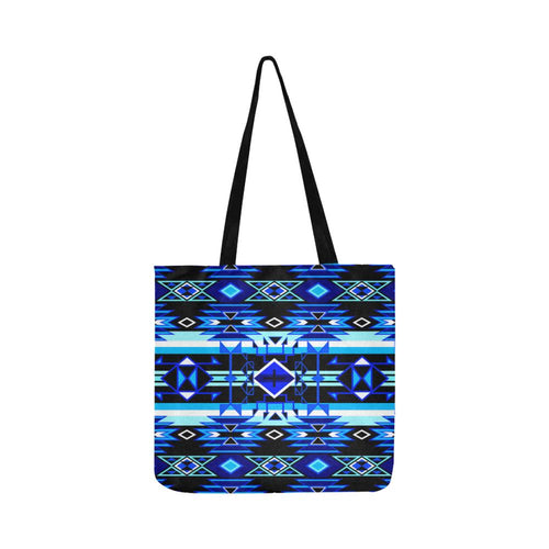 Force of Nature Winter Night Reusable Shopping Bag Model 1660 (Two sides) Shopping Tote Bag (1660) e-joyer