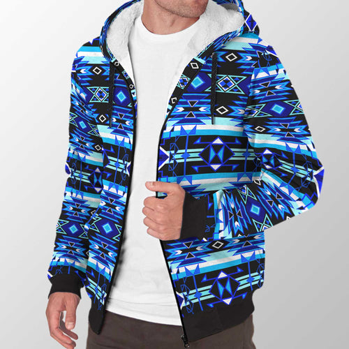 Force of Nature Winter Night Sherpa Hoodie 49 Dzine