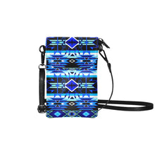 Force of Nature Winter Night Small Cell Phone Purse (Model 1711) Small Cell Phone Purse (1711) e-joyer