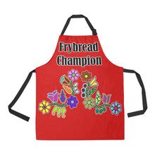Frybread Champion Sierra Floral All Over Print Apron All Over Print Apron e-joyer