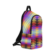 Fure Rattler Horizon Fabric Backpack for Adult (Model 1659) Casual Backpack for Adult (1659) e-joyer